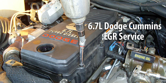 Dodge Cummins 6.7L EGR Service