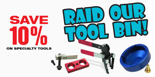 Geno's Garage September Special - Save 10% on Tools