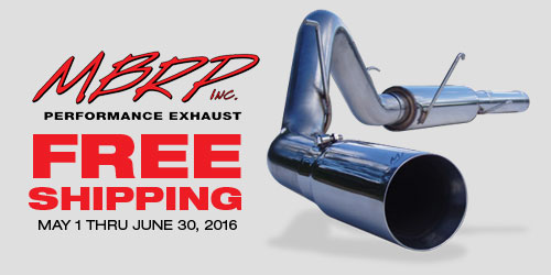 Geno's Garage - FREE Shipping on MBRP Exhaust Systems