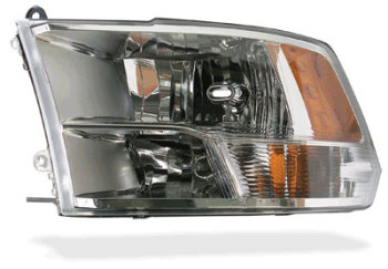 HEADLIGHT - DRIVER SIDE - DUAL BULB  ('10-'12,  SLT PACKAGE)