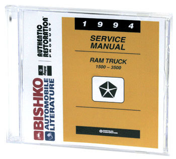 DODGE RAM FACTORY SERVICE MANUAL - CD ('94)