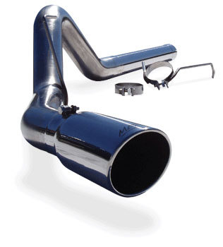 "EXHAUST SYSTEM - MBRP - 'XP SERIES' 4"" DIAMETER - FILTER-BACK  ('07.5-'09, 6.7L)"