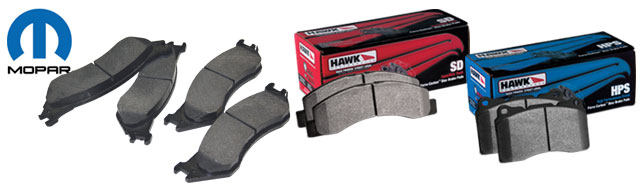 Dodge Ram Brake Pads From Hawk And Mopar