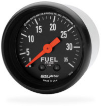 FUEL PRESSURE GAUGE,  35PSI (MECHANICAL)  AUTOMETER - Z SERIES