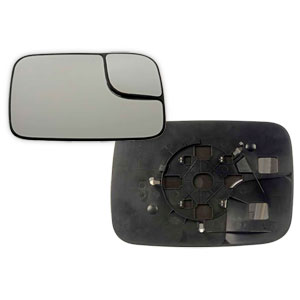 MIRROR GLASS - TOWING/MANUAL - PASSENGER ('05-'09)