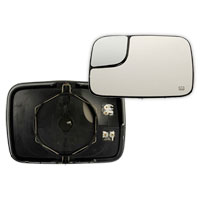MIRROR GLASS - TOWING/HEATED - DRIVER  ('03-'05)