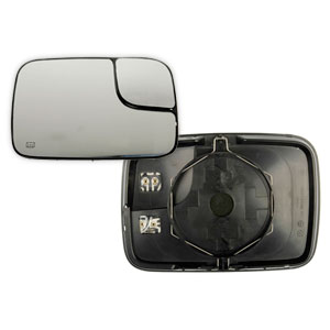 MIRROR GLASS - TOWING/HEATED - PASSENGER  ('03-'05)