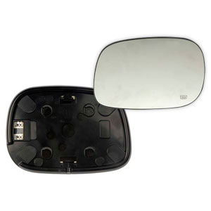 MIRROR GLASS - SPORT/HEATED - DRIVER ('03-'04)