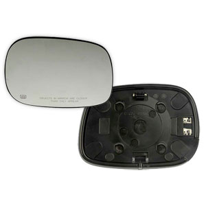 MIRROR GLASS - SPORT/HEATED - PASSENGER  ('03-'04)