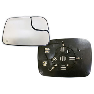MIRROR GLASS - TOWING/HEATED - PASSENGER  ('05-'09)