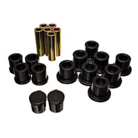 LEAF SPRING BUSHING SET - ENERGY SUSPENSION  - REAR ('94-'02, 2500/3500 - 4WD)