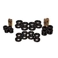 CONTROL ARM BUSHING SET - ENERGY SUSPENSION - FRONT - BLACK ('03-'09, 2500/3500 -  4WD)