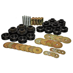 CAB MOUNT BUSHING SET - ENERGY SUSPENSION  ('03-'05, 2WD and 4WD - QUAD CAB)