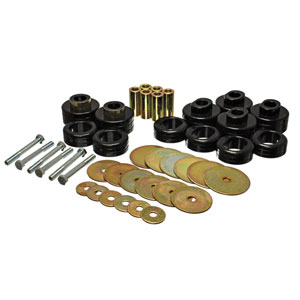 CAB MOUNT BUSHING SET - ENERGY SUSPENSION  ('03-'05, 2WD and 4WD - REGULAR CAB)