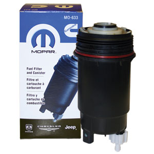 FUEL FILTER & SHELL - MOPAR  ('07.5-'09, 6.7L) - 68061633AA