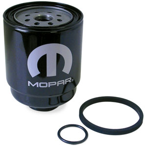 FUEL & WATER SEPARATOR (CHASSIS MOUNTED) MOPAR  ('13-'18, 6.7L) - 68197867
