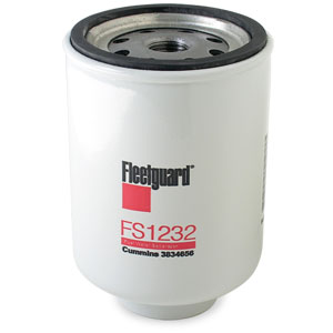 FUEL FILTER - REQUIRES WATER & FUEL SENSOR - FLEETGUARD ('89-'93, 5.9L) - FS1232