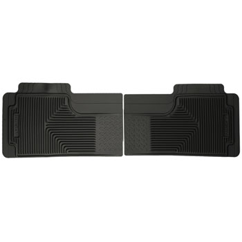 HEAVY DUTY FLOOR MATS,  RUBBER  - REAR (NO UNDERSEAT STORAGE UNIT) ('94-'02)