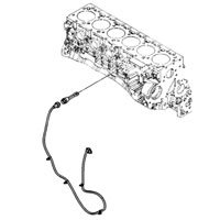 '03-'09 Dodge Cummins Block Heater Cable Location