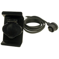 '94-'02 Dodge Cummins Block Heater Bumper Plug - Non-Sport Trucks