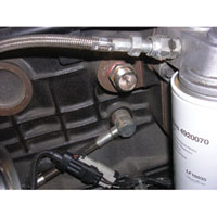 '94-'02 Dodge Cummins Block Heater Cable Location