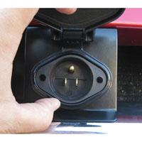 '03-'09 Dodge Cummins Block Heater Bumper Plug