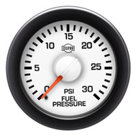 FUEL PRESSURE GAUGE,  30PSI (ELECTRIC)  ISSPRO EV²