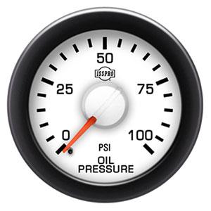 OIL PRESSURE GAUGE,  100PSI - ISSPRO EV²