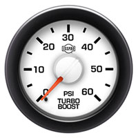 ISSPRO EV2 60PSI Boost Gauge
