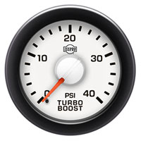 BOOST GAUGE,  40PSI - ISSPRO EV²