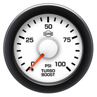 BOOST GAUGE,  100PSI - ISSPRO EV²