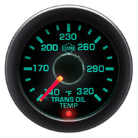 ISSPRO EV2 R14566 140-320 Transmission Oil Temperature Gauge