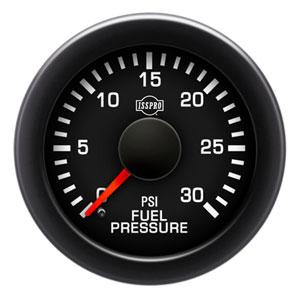 FUEL PRESSURE GAUGE,  30PSI (ELECTRIC) - ISSPRO EV²