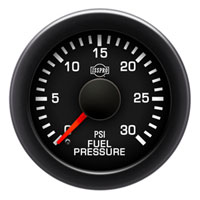 FUEL PRESSURE GAUGE,  30PSI (ELECTRIC) - ISSPRO EV²