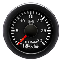FUEL RAIL PRESSURE GAUGE,  30,000PSI (ELECTRIC) ISSPRO EV² ('07.5-'12, 6.7L)