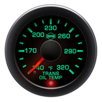 ISSPRO EV2 R17566 320F Transmission Oil Temperature Gauge