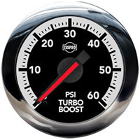 BOOST GAUGE,  60PSI (ELECTRIC) - ISSPRO EV²