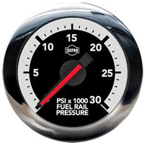 FUEL RAIL PRESSURE GAUGE, 30,000PSI (ELECTRIC) - ISSPRO EV² ('07.5-12, 6.7L)