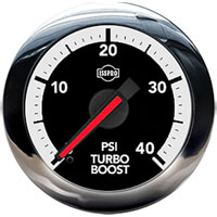 BOOST GAUGE,  40PSI (ELECTRIC) - ISSPRO EV²