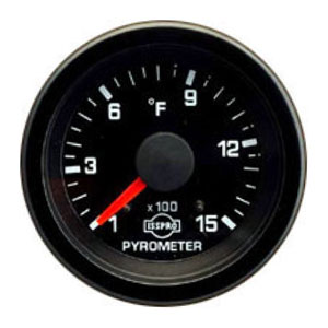 EXHAUST GAS TEMPERATURE GAUGE (100-1500 DEG) ISSPRO EV¹