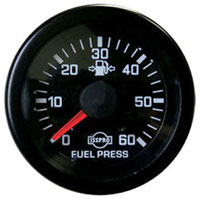 FUEL PRESSURE GAUGE, 60PSI  (MECHANICAL)  ISSPRO EV¹
