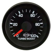 BOOST GAUGE, 100PSI - ISSPRO EV¹
