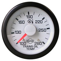 TRANSMISSION TEMPERATURE GAUGE (100-260 DEG - FULL SWEEP) ISSPRO EV¹
