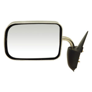SIDE MIRROR - MANUAL/CHROME - DRIVER ('94-'97, 2500/3500)