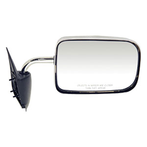 SIDE MIRROR - MANUAL/CHROME - PASSENGER ('94-'97, 2500/3500)