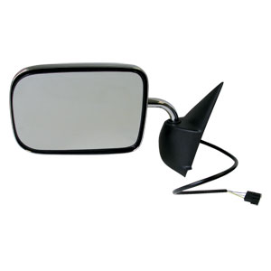 SIDE MIRROR - ELECTRIC/CHROME - DRIVER ('94-'97, 2500/3500)