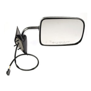 SIDE MIRROR - ELECTRIC/CHROME - PASSENGER ('94-'97, 2500/3500)