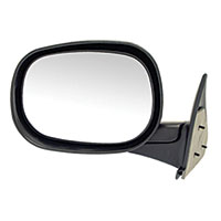 SIDE MIRROR - MANUAL - DRIVER ('98-'02, 2500/3500)