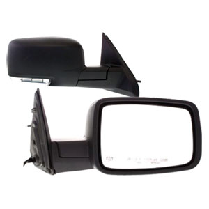 SIDE MIRROR - ELECTRIC/HEATED - PASSENGER ('10-'12, 2500/3500)