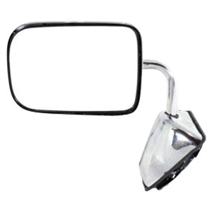 SIDE MIRROR - MANUAL/CHROME - DRIVER ('89-'93, 150/250/350)